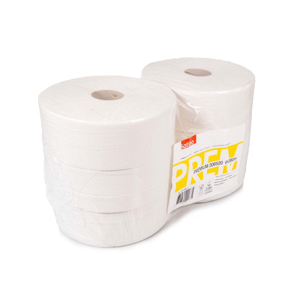 Satino Premium Toiletpapier.Satino Premium Jumbo Toiletrol Circulairinbedrijf Nl