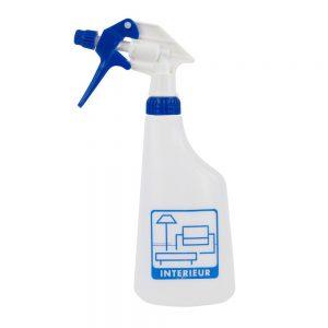 Sprayflacon met sprayer blauw