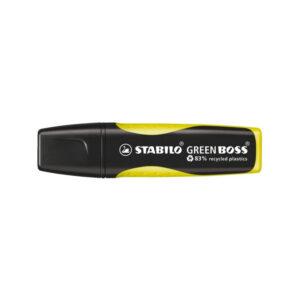 stabilo greenboss geel