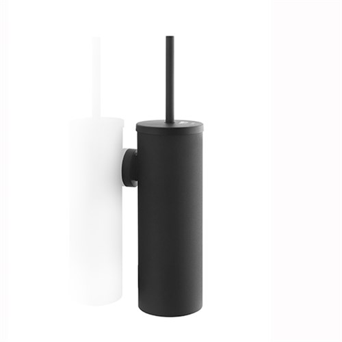 Toiletborstel garnituur zwart