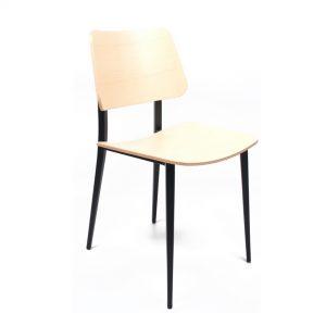 midj joe hpl blank eiken stoel