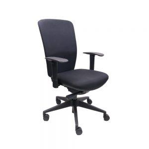 Chairsupply 708 CS Hoog Zwart