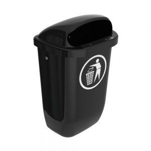 Afvalbak-DIN-PK-50-liter-zwart