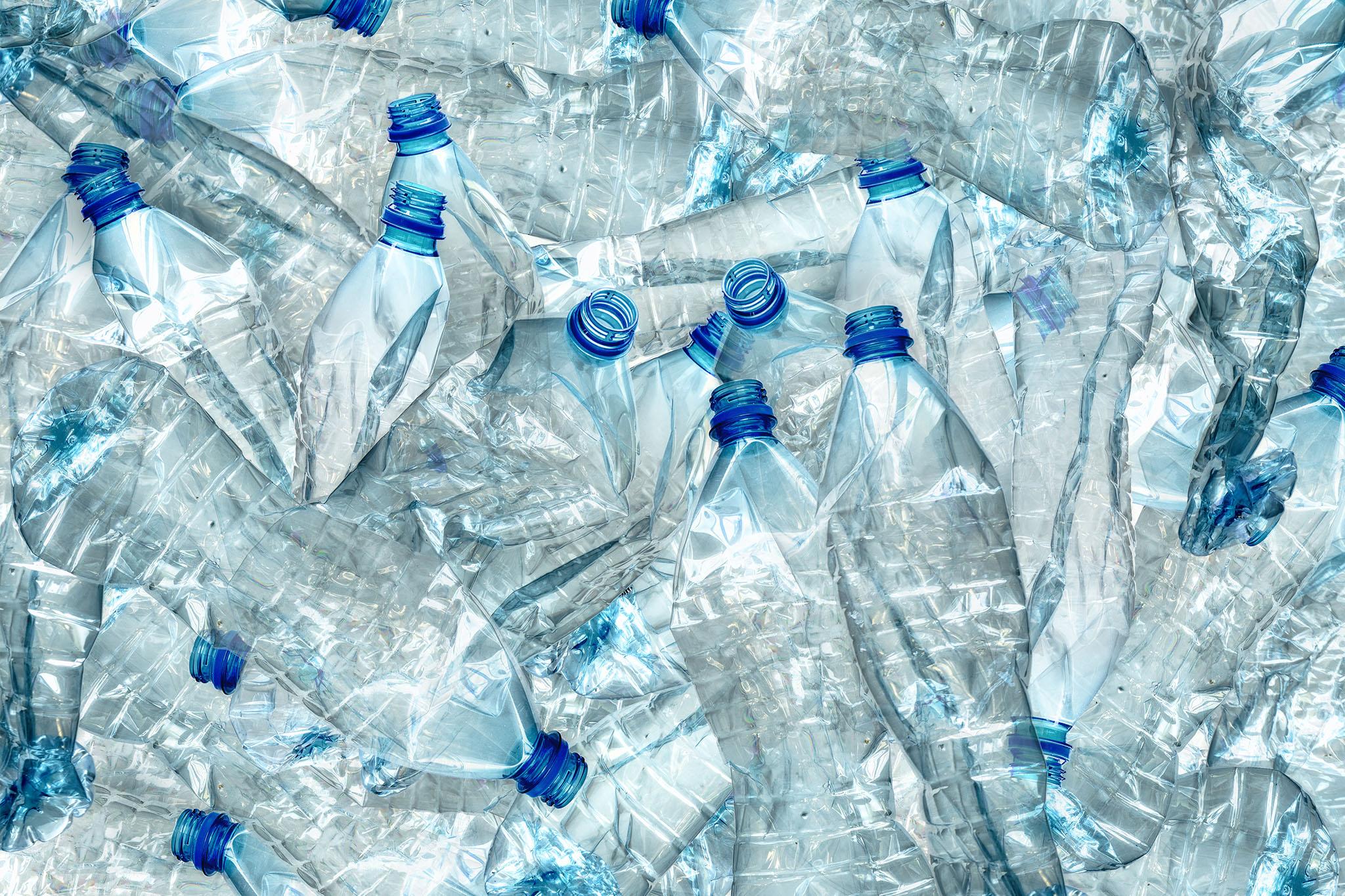 Statiegeld kleine plastic flesjes