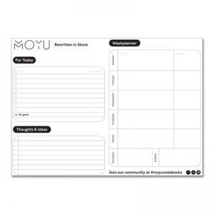 moyu placemat weekplanner steenpapier