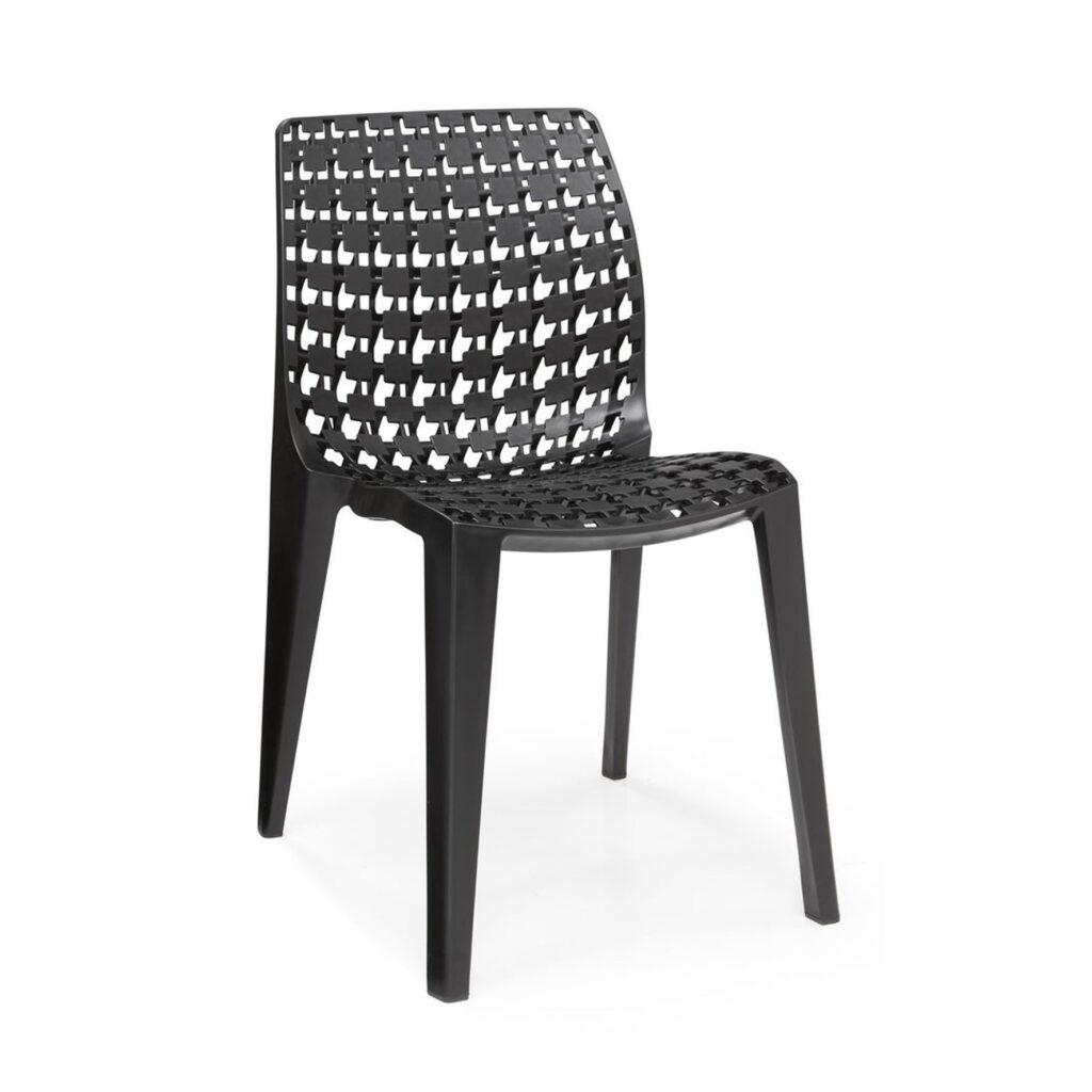 De Pluz stoel