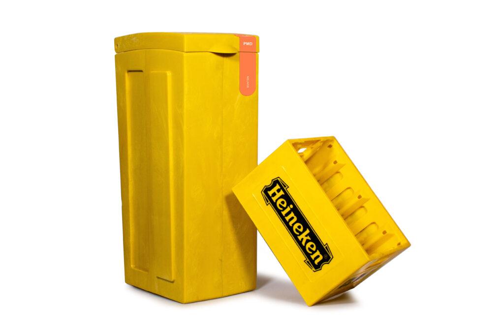 heineken bonton vrumona krat afval recyclen